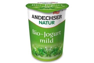 Biologische Volle Milde Yoghurt (Andechser, 500 gram)