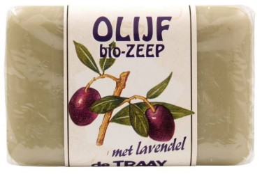 De Traay Olijfzeep met Lavendel (250 gram)