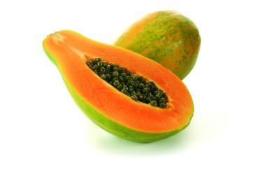 Biologische Papaya, per stuk