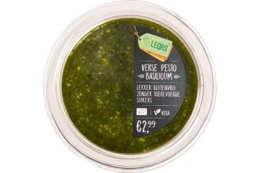 Biologische Pesto Basilicum (LeQrs, 100 gram)