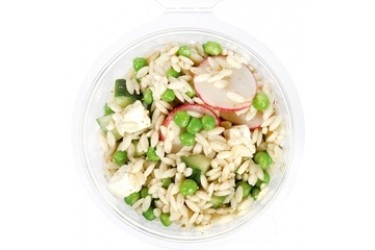 Biologische Pesto orzo, doperwten & feta (Crave Good Food, 150 gram)