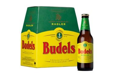 Biologische Pilsener Budels RADLER 2,2%, 6-pack