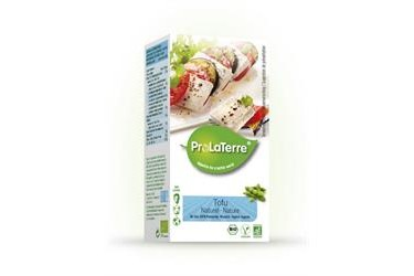 Biologische Tofu Naturel (ProLaTerre, 250 gram)