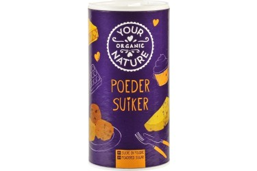 Poedersuiker (Your Organic Nature, 125 gram)