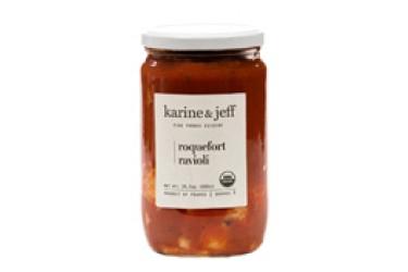 Biologische Ravioli Roquefort Kaas (Karine & Jeff, 690 gram)