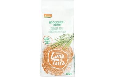Biologisch Roggemeel Voordeelverpakking (Luna e Terra, 4 x 500 gram)