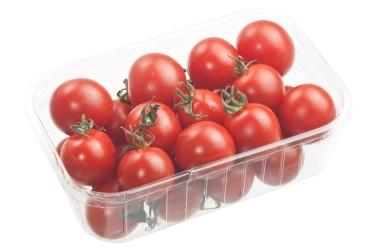 Biologische Cherry Roma Tomaten (250 gram)