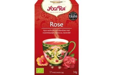 Biologische Rozen Thee (Yogi Tea, 7 builtjes)