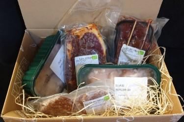 Biologisch Barbecue Pakket Rund&Kip (Hooge Stoep, voor 2 tot 4 personen)
