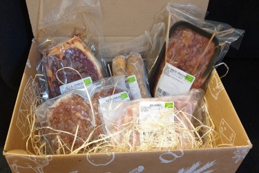 Biologisch Barbecue Pakket Rund&Varken (Hooge Stoep, voor 2 tot 4 personen)