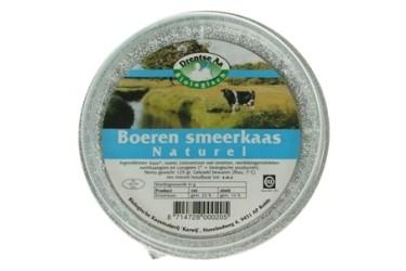 Biologische Smeerkaas Naturel (Drentse Aa, 125 gram)