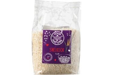 Biologische Snelkookrijst Wit (Your Organic Nature, 400 gram)
