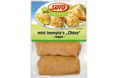 Biologische Mini Loempia China (Soto, 200 gram)