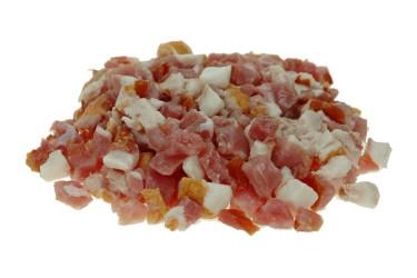 Biologische Dobbelsteentjes Gerookt Spek (Overesch, 240 gram)