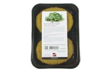 Biologische Spinazieburger (Paddenstoel, 160 gram)