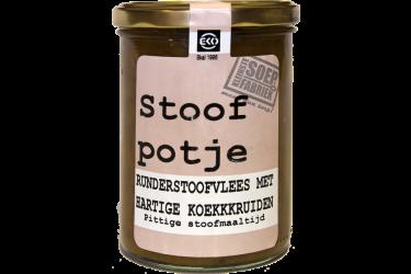 Stoofpotje runderstoofvlees met hartige koekkruiden (Kleinste Soepfabriek, 400 ml)