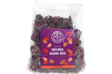 Biologische Rozijnen Sultana Voordeelverpakking (Your Organic Nature, 6 x 300 gram)
