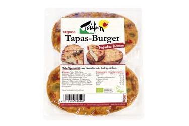 Biologische Tapasburger Paprika-Kappertjes (Taifun, 200 gram)