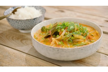 Biologisch Verspakket (4 personen, € 3,69 p.p.): Thaise Curry (2 kg)