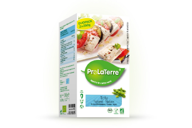 Biologische Tofu DUOpack Naturel (ProLaTerre, 2 x 250 gram)