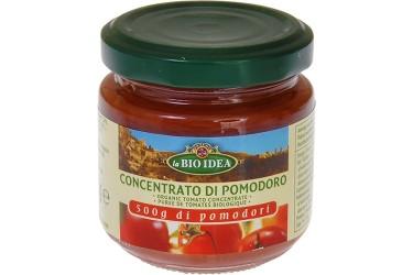 Biologische Tomatenpuree 22% Voordeelverpakking (La Bio Idea, 12 x 100 gram)