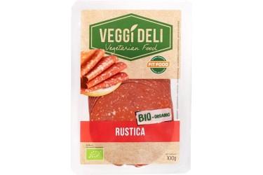 Biologisch Broodbeleg Salami  Rustica (FITFOOD Veggi Deli, 100 gram)