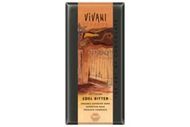 Biologische Chocoladetablet Puur 71% (Vivani, 100 gram)