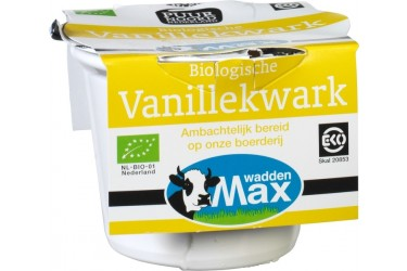 Biologische Vanille Kwark (Waddenmax, 250 ml)