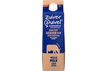 Biologische Volle melk Demeter (Zuiver Zuivel, 1 liter)