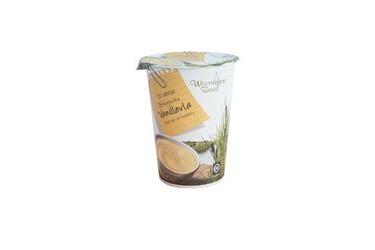 Biologische Vanillevla beker (Weerribben Zuivel, 500ml)