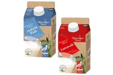Biologische Halfvolle Melk half litertje (Weerribben Zuivel, 500 ml)