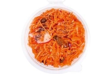 Biologische Wortel, Amandel en Sinaasappelsalade (Crave Good Food, 150 gram)
