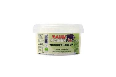Biologische Rauwe Yoghurt Hangop (Rauw Power, 400 ml)