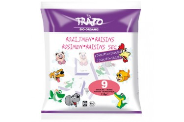 Biologische Yoghurtrozijntjes in doosje (Trafo, 112 gram)