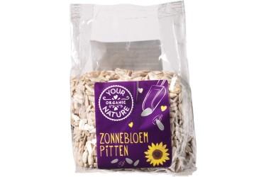 Biologische Zonnebloempitten Voordeelverpakking (Your Organic Nature, 8 x 200 gram)