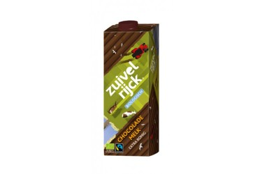 Biologische Chocolademelk Extra Romig (Zuivelrijck, 1 liter)