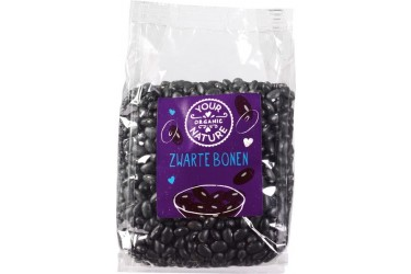 Biologische Zwarte Bonen Voordeelverpakking (Your Organic Nature, 6 x 400 gram)