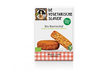 Biologische Vegetarische Bamischijf (The Vegetarian Butcher's Daughter, 2 x 100 gram)