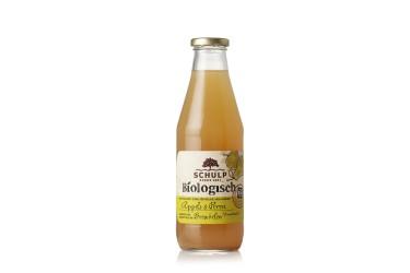 ** Biologische Appel & Perensap (Schulp, fles 750 ml)