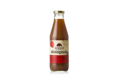 ** Biologische Appel & Aardbeiensap (Schulp, fles 750 ml)