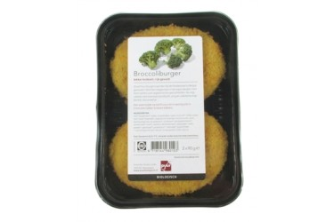 Biologische Broccoliburger (Paddenstoel, 180 gram)