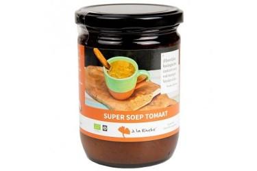 Biologische Super Soep Tomaat Voordeelverpakking (Puur Rineke, 6 x 224 gram)
