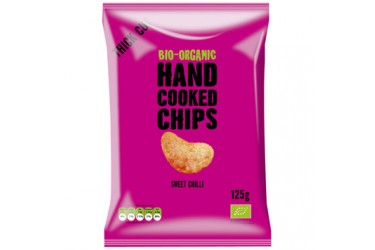 Biologische Handcooked Chips Sweet Chili (Trafo, 125g)