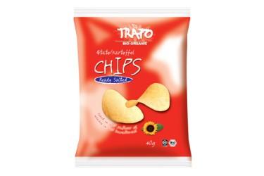 Biologische Aardappelchips Naturel Voordeelverpakking (Trafo, 15 x 40 gram)