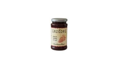 Biologisch Fruitbeleg Aardbeien (De Nieuwe Band, 250 gram)