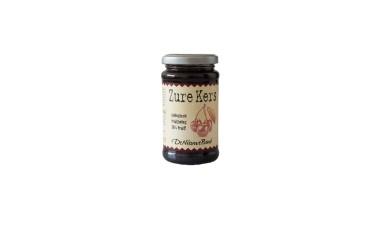 Biologisch Fruitbeleg Zure Kers (De Nieuwe Band, 250 gram)