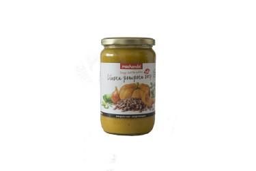 Biologische Linzen-Pompoensoep Voordeelverpakking (Machandel, 6 x 720 ml)