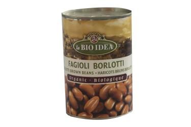 Biologische Bruine Bonen Biologische Voordeelverpakking (La Bio Idea, 6 x 400 gram)