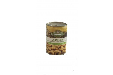 Biologische Witte Bonen Voordeelverpakking (La Bio Idea, 6 x 400 gram)