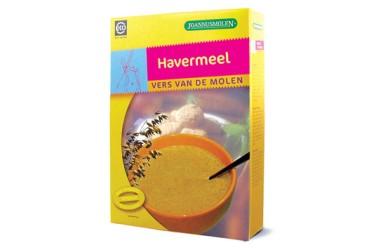 Biologische Havermeel Voordeelverpakking (Joannusmolen, 6 x 200 gram)